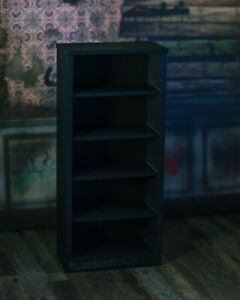 Black-Bookshelf-DIORAMA-PROP-ONLY-Mezco-Marvel-Legends-1-12