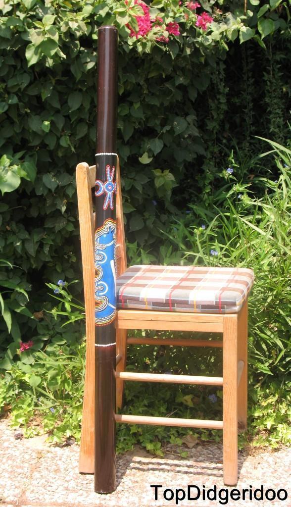 marchi di stilisti economici 47  \ \ \ 120cm Bamboo Didgeridoo Weasel Pitturato a Pallini Fatto Mano + Custodia +  scelte con prezzo basso