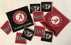 University-Of-Alabama-Crimson-Tide-Iron-On-fabric-appliques-Sports-Patches