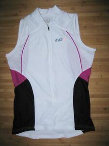 Louis Garneau Womens Size Large Cycling Shirt Purple Black New-Other Biking