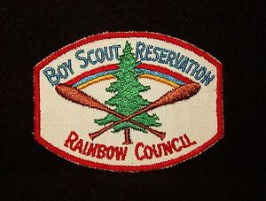 BOY SCOUT RAINBOW COUNCIL SCOUT RES EARLY 50'S PP #3 ILL.