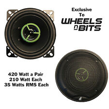 "BRAND NEW J-Audio J-GT 4"" Inch 2 Way Car Speaker 210 Watt Each 420 Watts a Set"