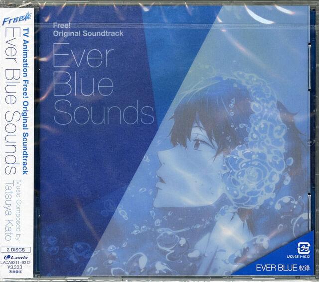 ANIMATION SOUNDTRACK (TATSUYA KATO)-FREE! (ANIME) OST-JAPAN 2 CD H75