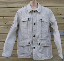 Timberland Stone Heavy Cotton Canvas Field Jacket - M - c2007