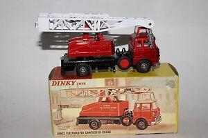 Dinky Toys, #970 Jones Fleetmaster Cantilever Grue , En Boîte, Original Lot #2