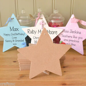 30-craft-blank-wooden-STAR-shaped-MDF-plaques-with-hanging-holes-150-x150-x-6