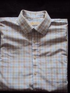 Men-s-Shirt-Michael-Kors-Size-16-UK-34-35-EUR-100-Cotton-Made-in-Bangladesh