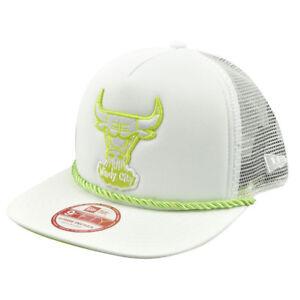 NBA New Era A Frame 9Fifty 950 Chicago Bulls Rope Front Trucker ... 31861e7ec455