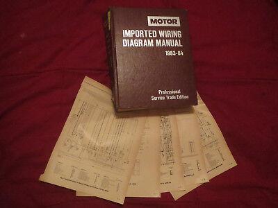 1983 1984 honda accord civic crx prelude wiring diagrams schematics set    ebay  ebay