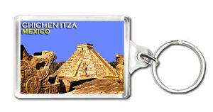 CHICHEN ITZA MEXICO MOD2 KEYRING SOUVENIR LLAVERO