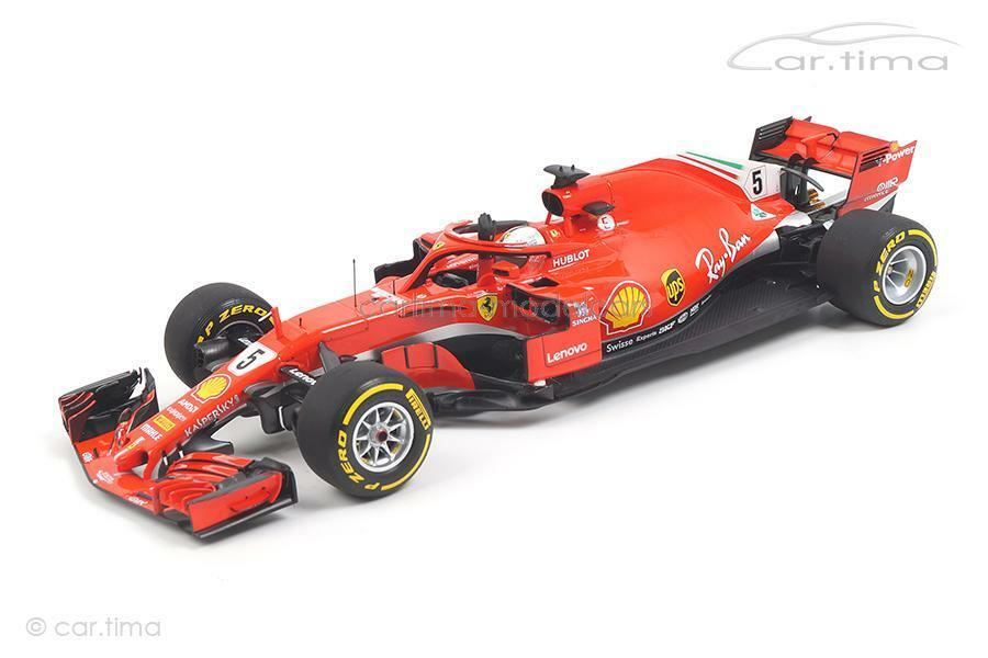 Ferrari SF71-H - GP Australia 2018 - Sebastian Vettel - BBR 1 18 - BBR181805  | Düsseldorf Eröffnung