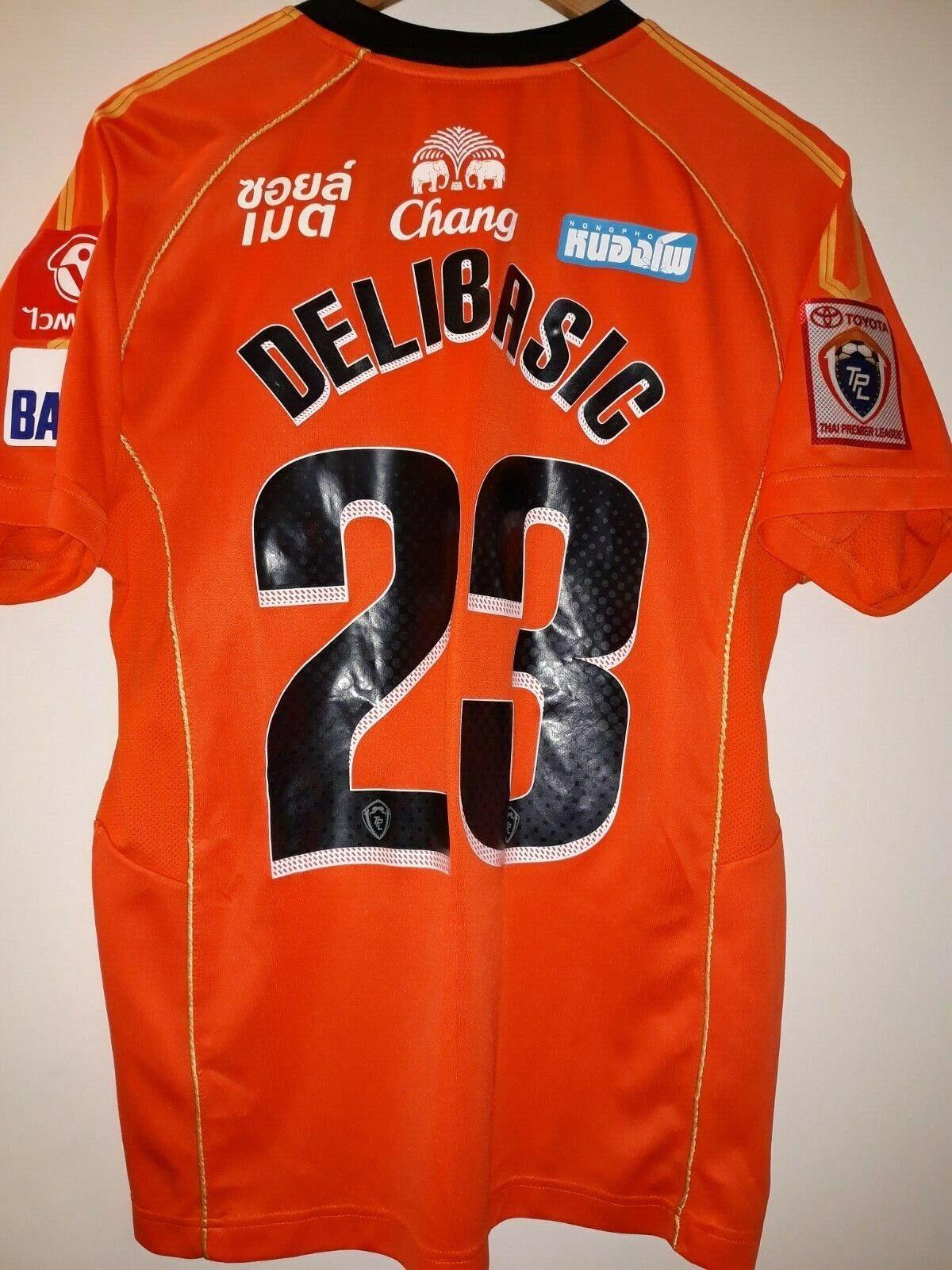 Jersey football FC Ratchaburi Mitr Phol Andrija Delibasic 2014 mizuno lxl