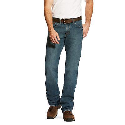 ARIAT Mens M4 Rebar Low Rise Boot Cut Stretch Jean Jeans