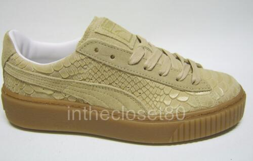 Beige Gruau Creepers Baskets Femme Puma Suede Or Marron pfUnwXxq