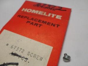 Homelite 67372 Chainsaw Valve Screw for XL-2