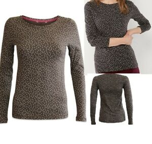 White-Stuff-Sz-8-10-Soft-Stretchy-Jersey-Cotton-T-Shirt-Top-Tunic