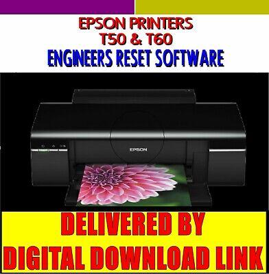 Epson Stylus Printer Waste Ink Pad Counter Error Reset Software DIGITAL DOWNLOAD