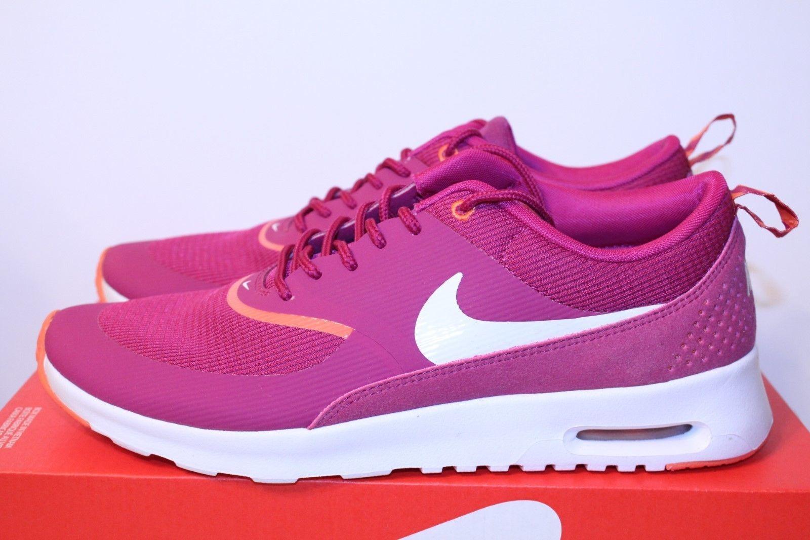 NIB Nike Air Max Thea Bright Magenta Sneaker shoes 599409-501 Womens Sz 7 - 7.5