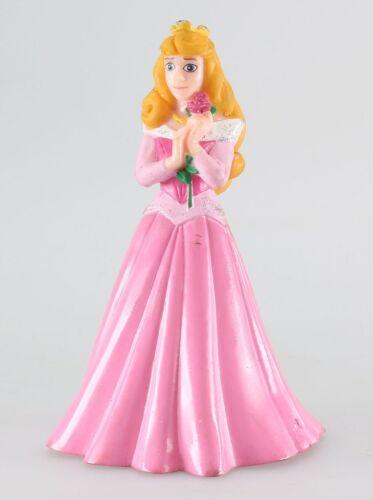 Figurine plastique Belle au bois dormant (La) La Belle au bois dormant et fleur