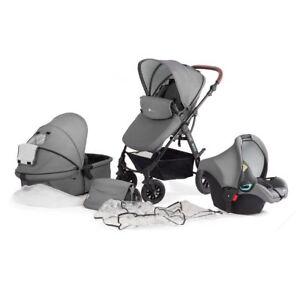 Kombikinderwagen-Kinderwagen-Kinderkarre-Babyschale-Kinderkraft-Moov-3in1-Set