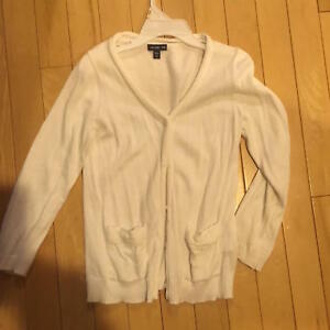 807dbd5ae64c Gap BabyGap Sweater - Size 5T GIRLS - Ivory Cotton Cardigan