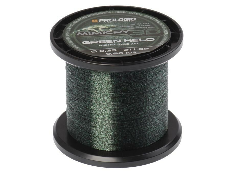 NEUF 2018 Prologic Mimicry Green Helo 1000m   0,28-0,35mm   monofilament   ligne
