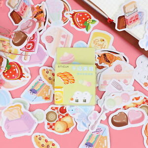46pcs-box-Delicious-Food-DIY-Diary-Stickers-Paper-Labels-Gifts-Packaging-Decor-F