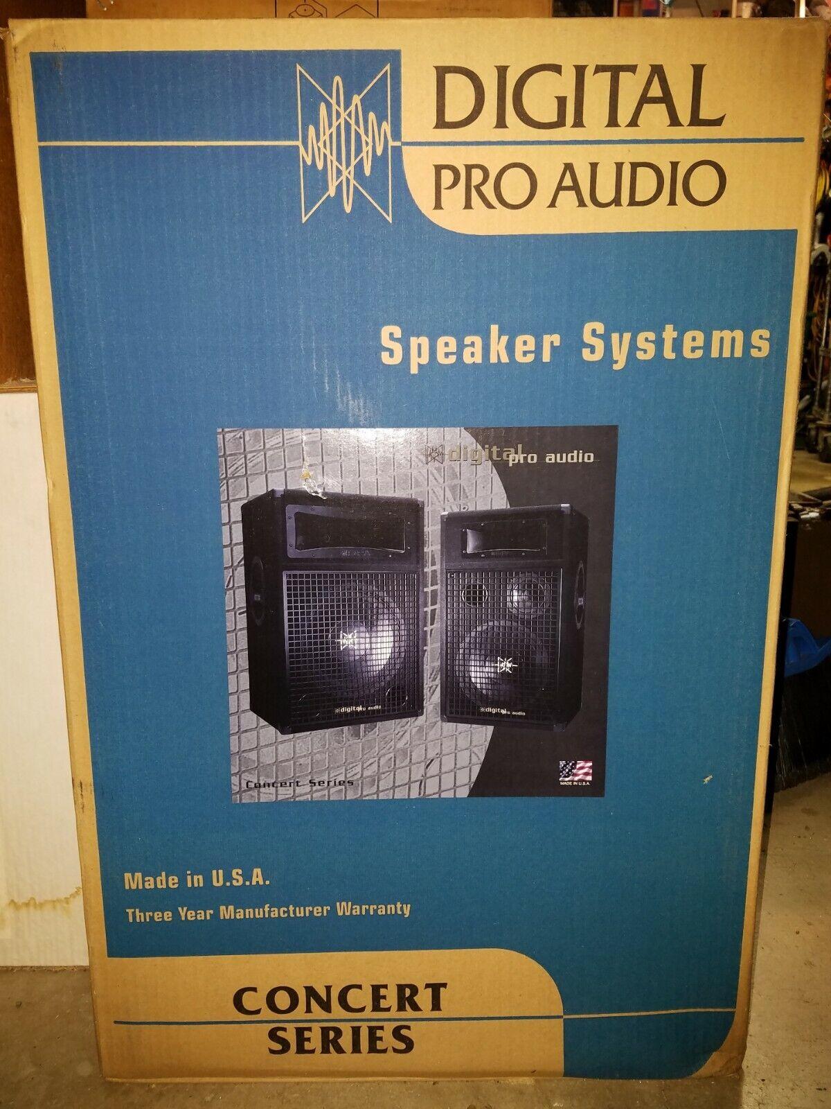 Digital Pro Audio Concert Series Speaker System DPA 215i (Set of 2)