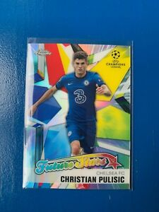 Topps Champions League Chrome 2020/21 Christian Pulisic FUTURE STARS Insert