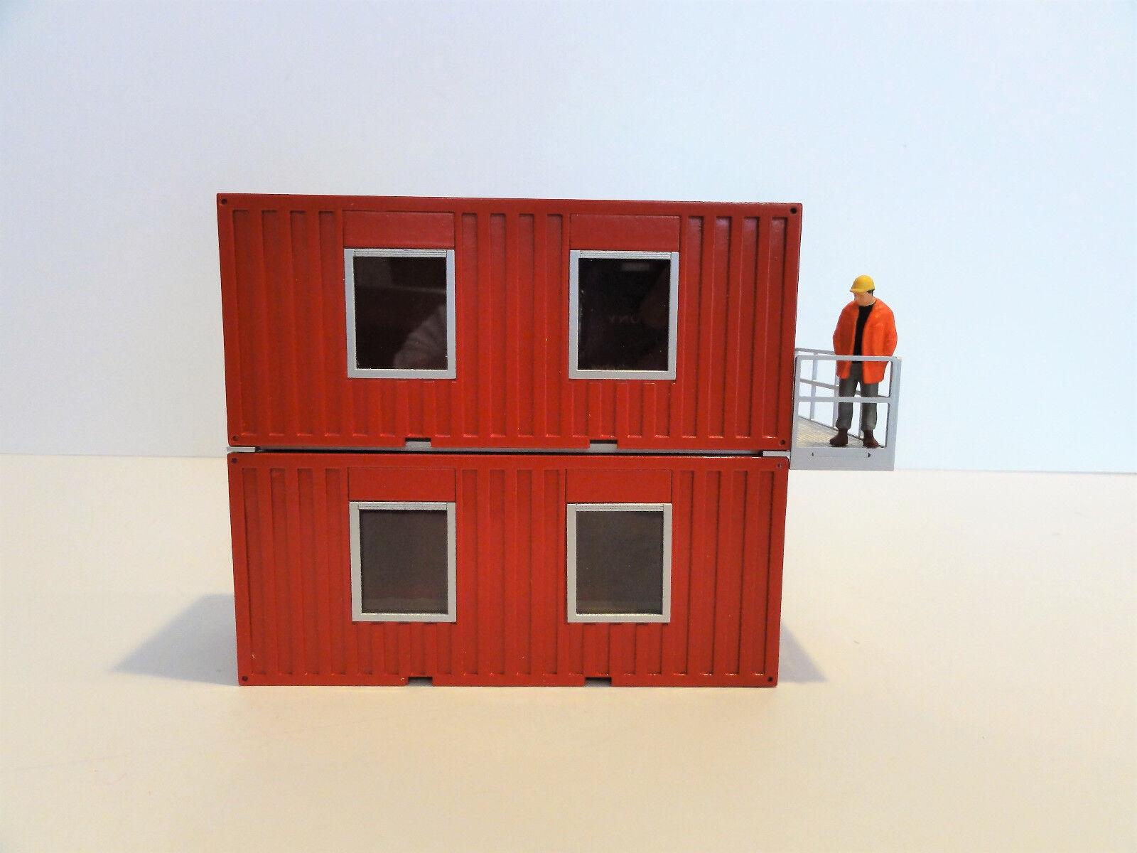 Himobo 20 ft (environ 6.10 m) Living Bureau de conteneurs  Rouge  1 50  NEW  Aimable Accessoire