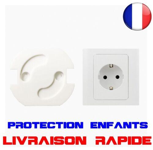 10pcs UE Prise électrique Bébé Enfant sécurité Protection anti choc électrique