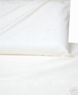 800TC Egyptian Cotton 1pc  FITTED SHEET Sateen Mini Checks White