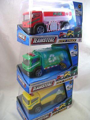 le recyclage de nettoyage ou carburant camions Teamsters NOUVEAU TEAMSTERS CITY Camion Jouet Modèle