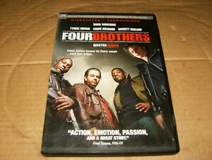 Four-Brothers-Starring-Mark-Wahlberg-DVD-2005-Used