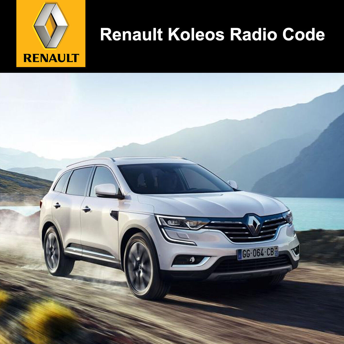Details about Renault Koleo's Radio Code Stereo Decode Car Unlock Fast  Service UK All Vehicles