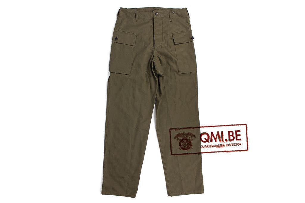 HBT (Herringbone Twill) trousers, men (U.S. WWII)