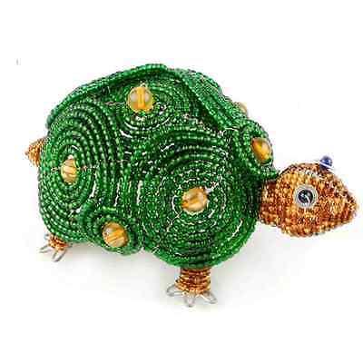 Beadworx TORTUE TORTOISE ~ ~ animal à perles artisanal Cadeau ~ perles travail