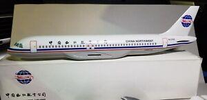 FLIGHT-MINATURES-CHINA-NORTHWEST-AIRLINES-A320-1-100-SCALE-PLASTIC-SNAPFIT-MODEL