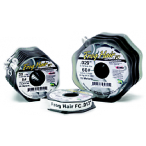 Frogs Hair Fluorocarbon Game Fly Fishing Tippet  Leader 100m 1st Class S//F Post