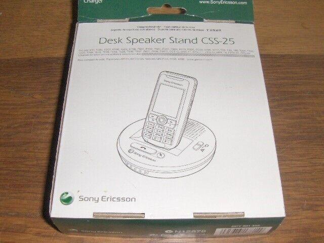 Andet, t. Sony Ericsson, SONY CSS-25 DESK SPEAKER STAND