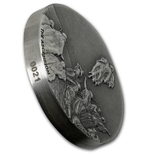 2018 2 oz Silver Coin - SKU#160189 Ascension of Christ Biblical Series