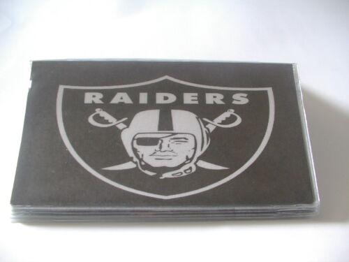 Oakland Raiders Vinyl checkbook cover