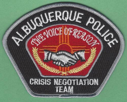 ALBUQUERQUE NEW MEXICO POLICE CRISIS NEGOTIATION TEAM SHOULDER PATCH