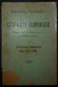 COUTELLIE- Manuel pratique de ka cuisinière économique - 1914 17MmNGgG-08125730-179664354