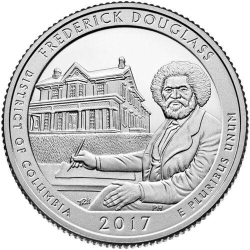 "USA 2017 US Quarter Frederick Douglass DC Coin Mint Mark /""S/"""