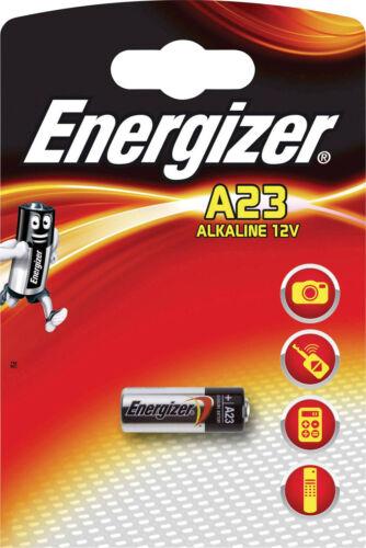 8x Energizer Alarmanlage-Batterie A23 12V 23A im 1er Blister 639315