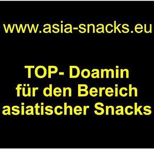 www.asia-snacks.eu Domainname Webadresse für Asia Lebensmittel & Snacks Domain