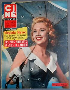 Cine Revue 26 1957 Virginia Mayo Caterina Valente Tyrone Power