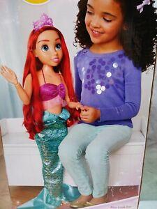 Disney-Princess-Ariel-Playdate-Doll-32-034-The-Little-Mermaid-NEW