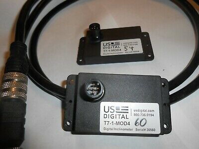 US Digital T7-1-MOD4 Inclinometer w//Cable and Connectors